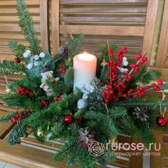Букет рождественский