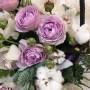 """Корзина цветов """"Люблю"""""""
