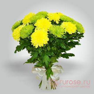 """Букет хризантем """"Любимые цветы"""""""