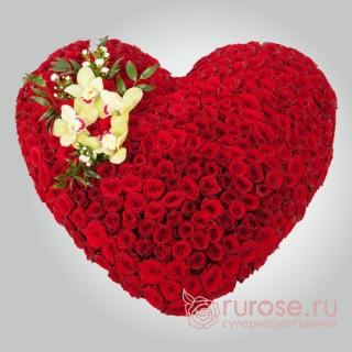 """Букет в форме сердца """"Большая любовь"""""""