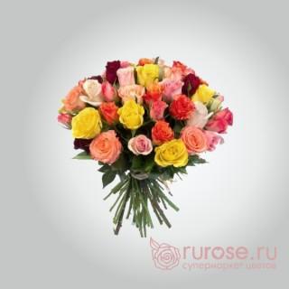 """Букет роз """"Оранжевое настроение"""""""
