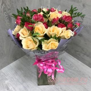 "Букет роз ""Натали"""