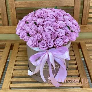 """Розы в коробке """"И пришла любовь"""""""