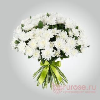 """Букет хризантем """"Ангельский взор (большой)"""""""