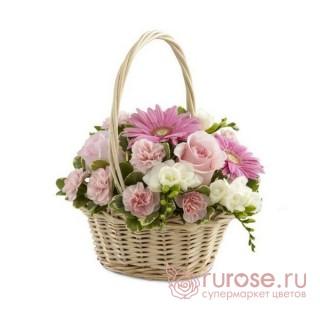 "Корзина с розами ""Встреча"""