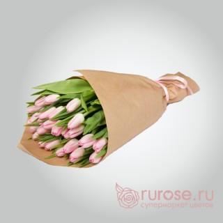 """Букет из 25 тюльпанов """"Джейн Айр"""""""