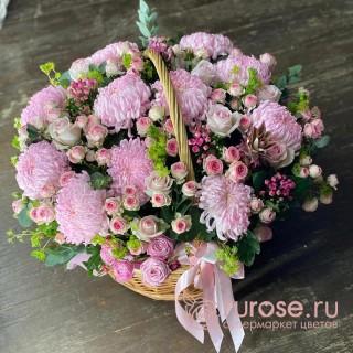 """Корзина цветов """"Ванесса"""""""
