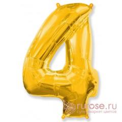 Цифра 4, Золото
