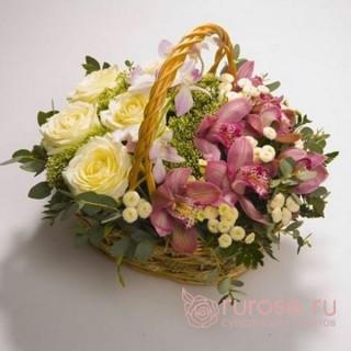 "Корзина с цветами ""Джуанна"""