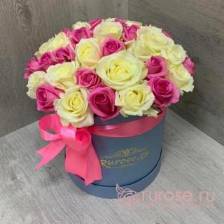 """Цветы в коробке """"Прелестница"""""""