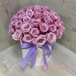 Цветы в коробке «Родрига»