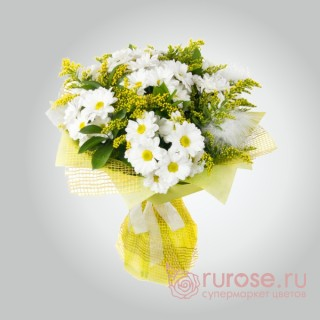 """Букет хризантем """"Адель - любовь моя"""""""