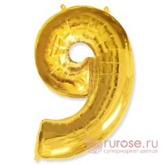 Цифра 9, Золото