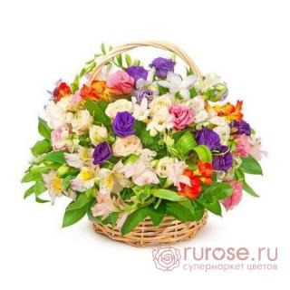"""Корзина с цветами """"Венеция"""""""