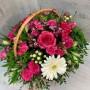 """Корзина цветов """"Чудный день"""""""