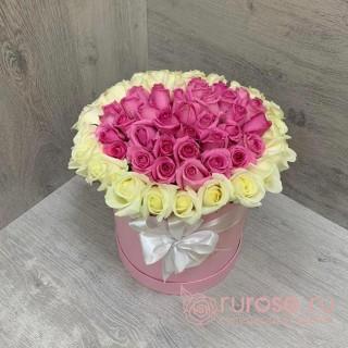 """Букет цветов в коробке """"Любовь"""""""