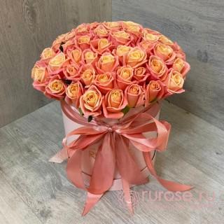 """Розы в коробке """"Лучшие дни"""""""