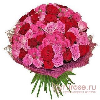 """Букет роз """"Малина"""""""