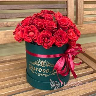 Цветы в коробке «Лидиа»
