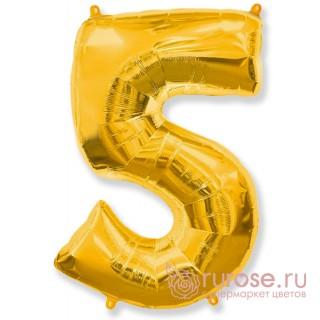Цифра 5, Золото