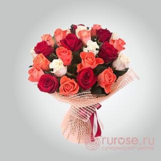 """Букет роз """"Признание"""" из 23 роз"""