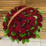 """Корзина с розами """"Настроение"""""""