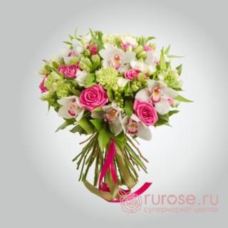"""Букет орхидей """"Ласковая любовь"""""""