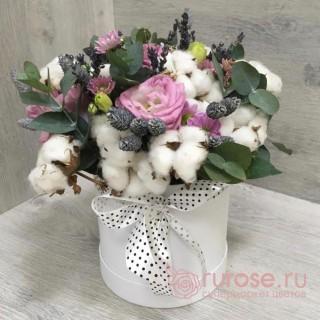 """Цветы в коробке """"Соль минор"""""""
