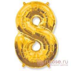 Цифра 8, Золото