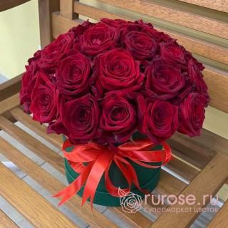 Цветы в коробке «Важный день»