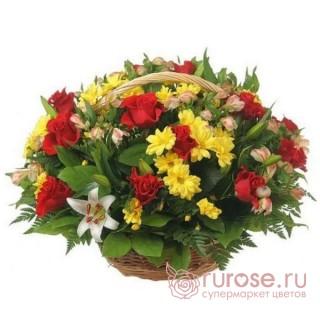 """Корзина цветов """"Анастасия"""""""
