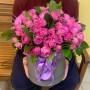 Цветы в коробке «Романтик(большой)»