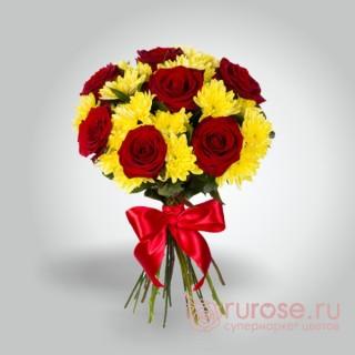 """Букет цветов """"Рио-де-Жанейро(малый)"""""""