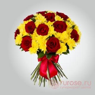 "Букет цветов ""Рио-де-Жанейро(средний)"""