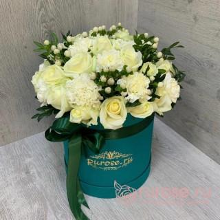 """Цветы в коробке """"Радостная весть"""""""