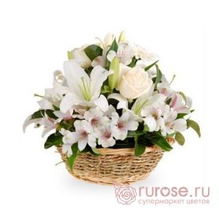 """Корзина с розами """"Моника"""""""
